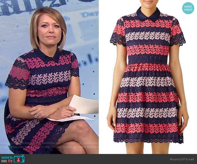 Ivy Dress by Draper James worn by Dylan Dreyer  on Today