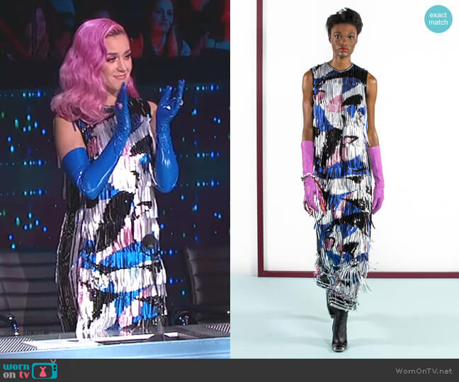 Fall 2019 Ready-to-Wear Collection by Emilio Pucci worn by Katy Perry  on American Idol