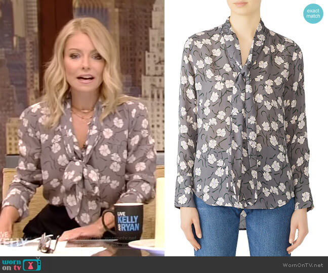 Luis Top by Equipment worn by Kelly Ripa  on Live with Kelly & Ryan