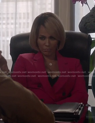 Giselle's pink blazer on Empire