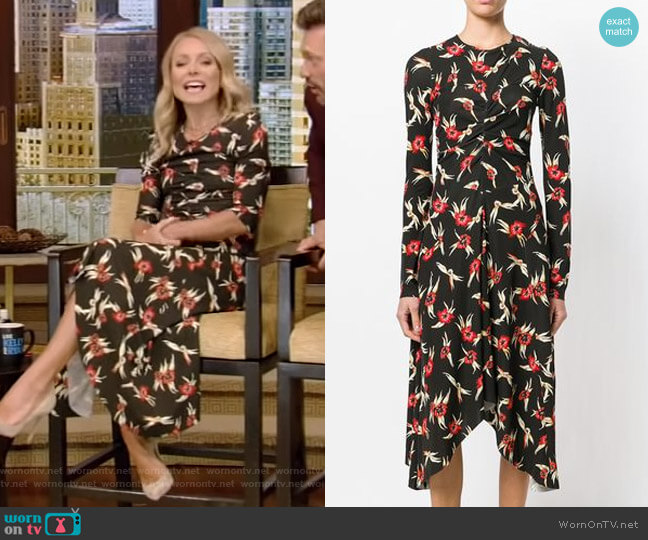 Diana Dress by Isabel Marant worn by Kelly Ripa (Kelly Ripa) on Live with Kelly & Ryan