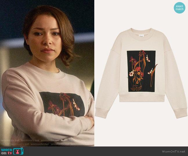 Aritzia Little Moon Vallerian Sweater worn by Nora West-Allen (Jessica Parker Kennedy) on The Flash