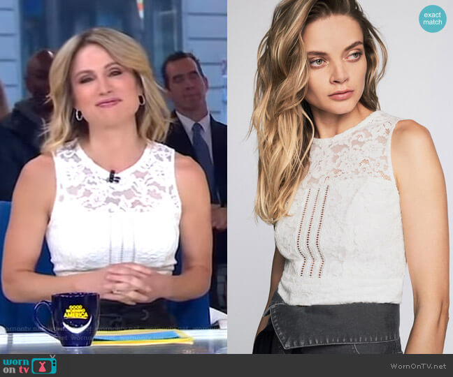 Jayce Shell by Marissa Webb worn by Amy Robach  on Good Morning America