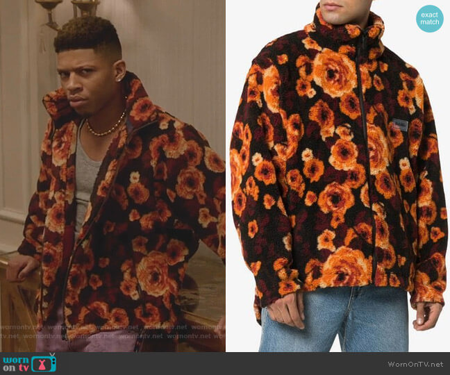 Floral Zipped Jacket by Napa By Martine Rose worn by Hakeem Lyon (Bryshere Y. Gray) on Empire