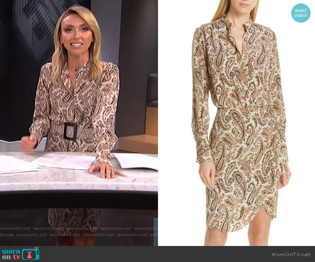 Leora Dress by Nili Lotan worn by Giuliana Rancic  on E! News