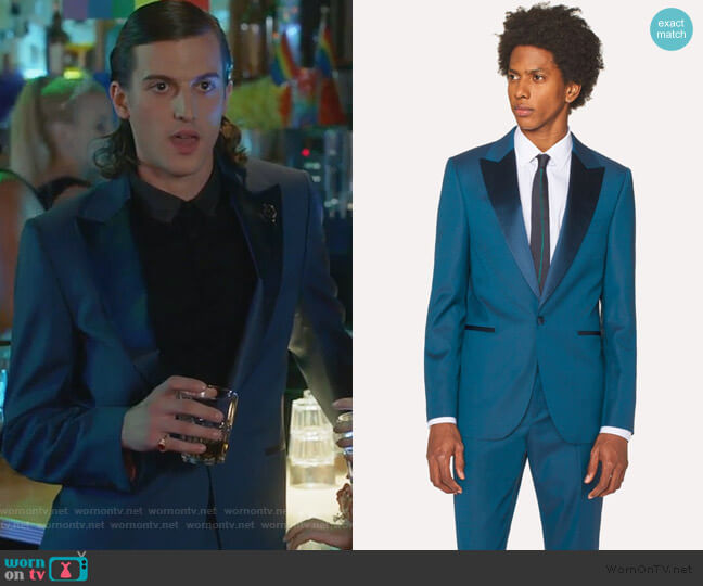 The Soho Blazer by Paul Smith worn by Peter Vack on The Bold Type