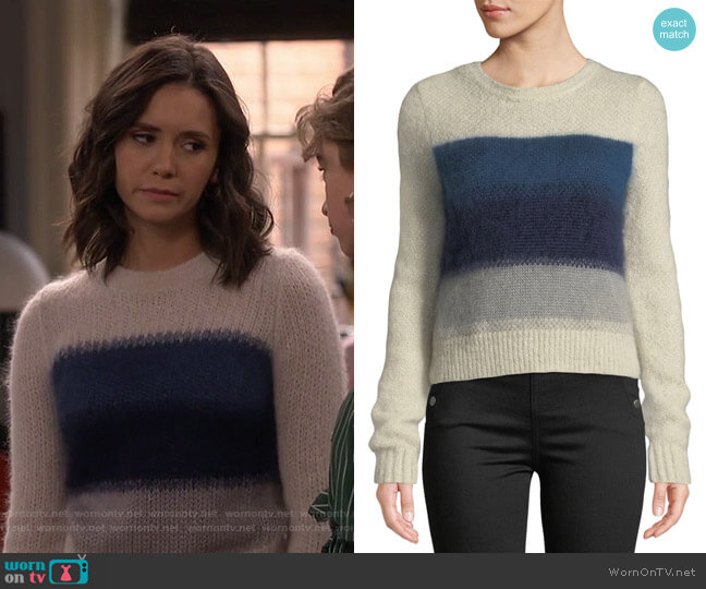 Holland Sweater by Rag and Bone worn by Clem (Nina Dobrev) on Fam