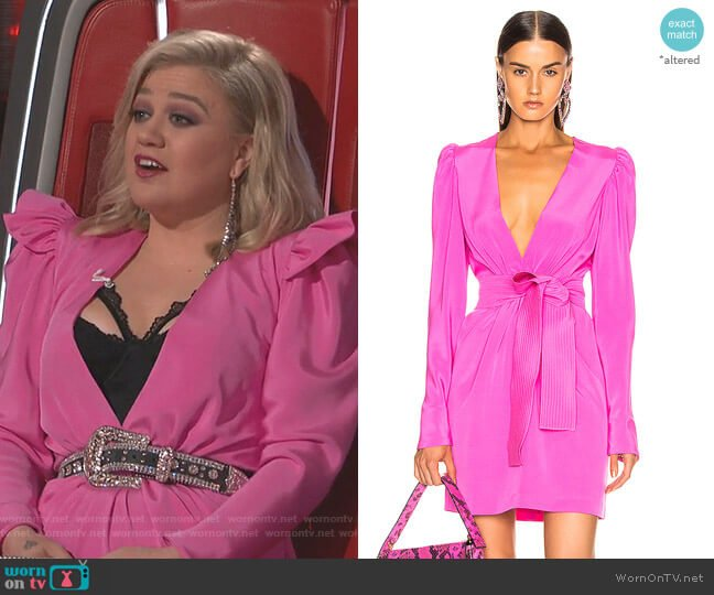 Otavia Dress by Silvia Tcherassi worn by Kelly Clarkson  on The Voice