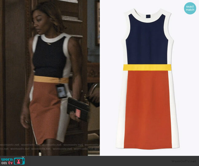 Mya Dress by Tory Burch worn by Daisy Grant (Patina Miller) on Madam Secretary