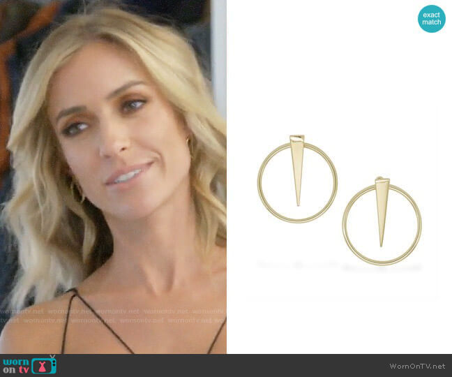 Uncommon James Shot in the Dark Earrings worn by Kristin Cavallari  on Very Cavallari