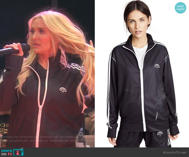 W Track Jacket by Adidas Originals by Alexander Wang worn by Erika Girardi  on The Real Housewives of Beverly Hills