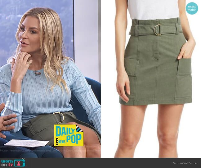 Kai Skirt by A.L.C. worn by Morgan Stewart  on E! News
