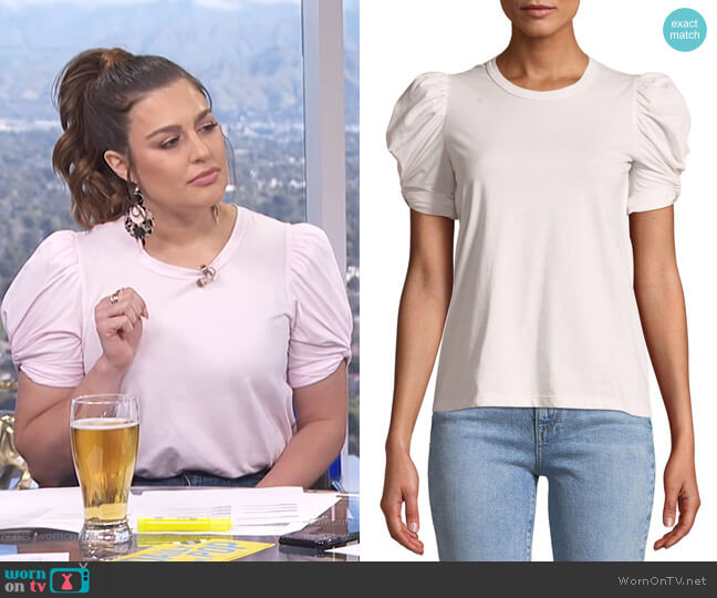 Kati Top by A.L.C. worn by Carissa Loethen Culiner  on E! News