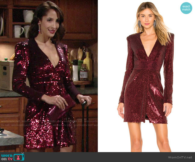 ALC Mara Dress worn by Lily Winters (Christel Khalil) on The Young & the Restless