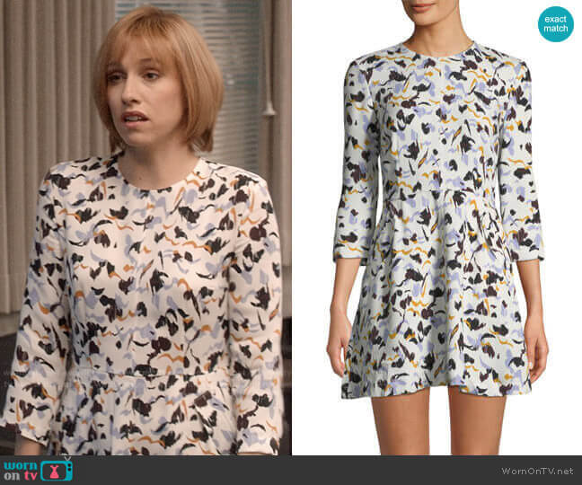 ALC Terry Dress worn by Catherine Meyer (Sarah Sutherland) on Veep