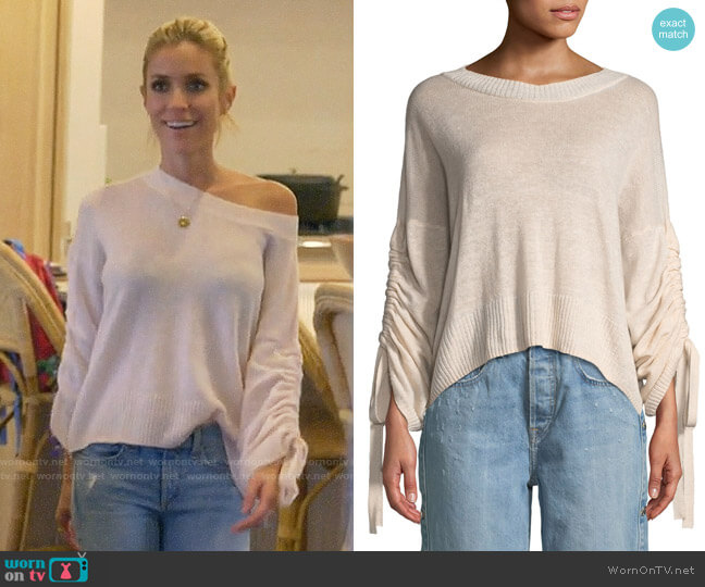 ALC Zora Sweater worn by Kristin Cavallari  on Very Cavallari