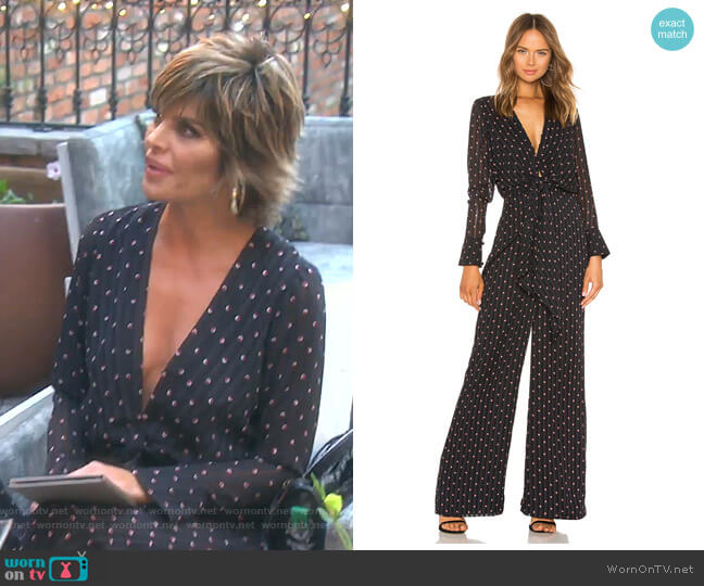 Shona Jumpsuit by Alexis worn by Lisa Rinna  on The Real Housewives of Beverly Hills