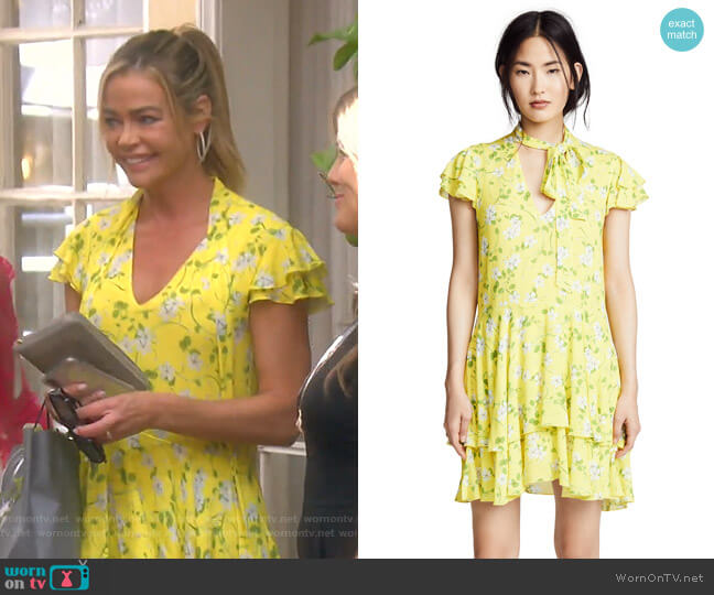 Moore Dress by Alice + Olivia worn by Denise Richards  on The Real Housewives of Beverly Hills