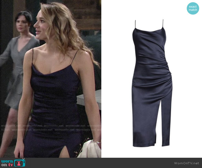 Alice + Olivia Dion Dress worn by Summer Newman (Hunter King) on The Young & the Restless