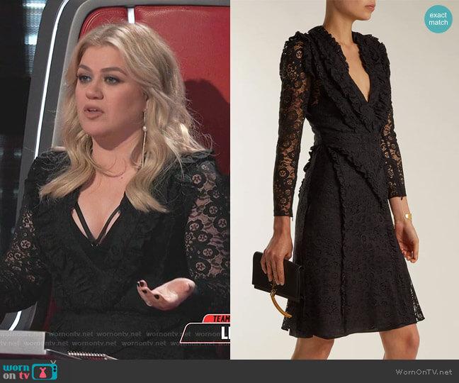Ourika Dress by Altuzarra worn by Kelly Clarkson  on The Voice