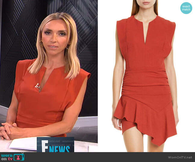Jess Minidress by Ba&Sh worn by Giuliana Rancic  on E! News