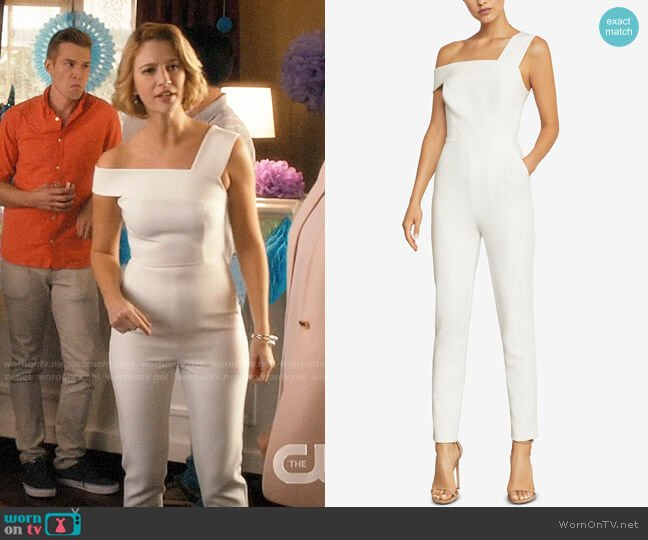 Bcbgmaxazria Haida Jumpsuit worn by Petra Solano (Yael Grobglas) on Jane the Virgin