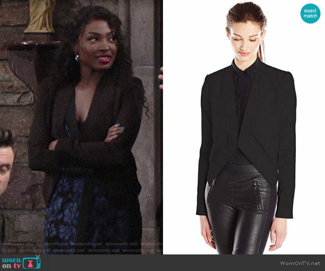 Bcbgmaxazria Lloyd Jacket worn by Ana Hamilton (Loren Lott) on The Young & the Restless