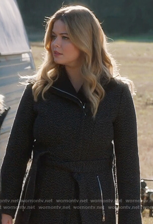 Ali's tweed coat on Pretty Little Liars The Perfectionists