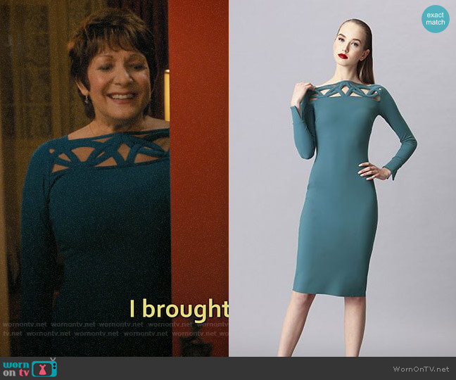 Chiara Boni La Petite Robe Terrie Dress worn by Alba on Jane the Virgin