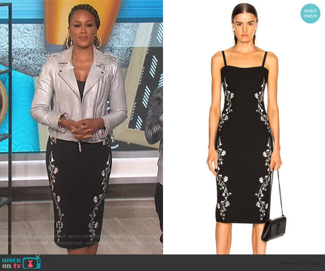 Chloe Dress by Cinq A Sept worn by Eve  on The Talk