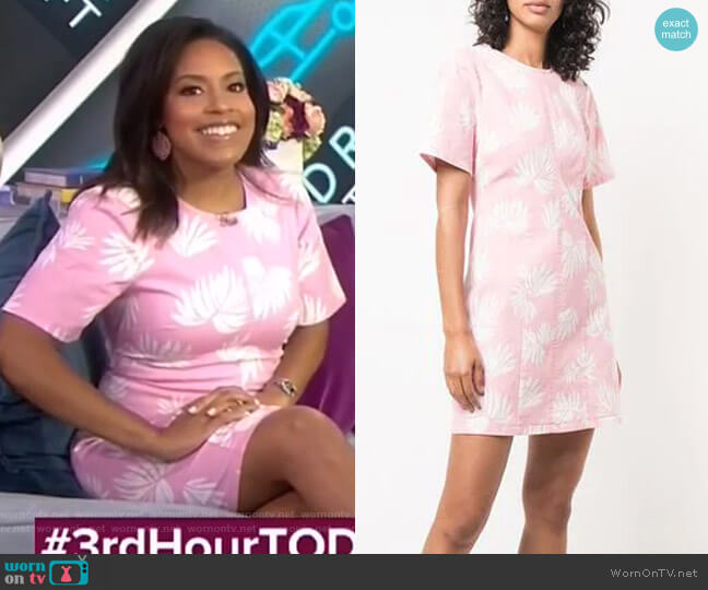 Phoenix Madison Dress by Cinq a Sept worn by Sheinelle Jones  on Today