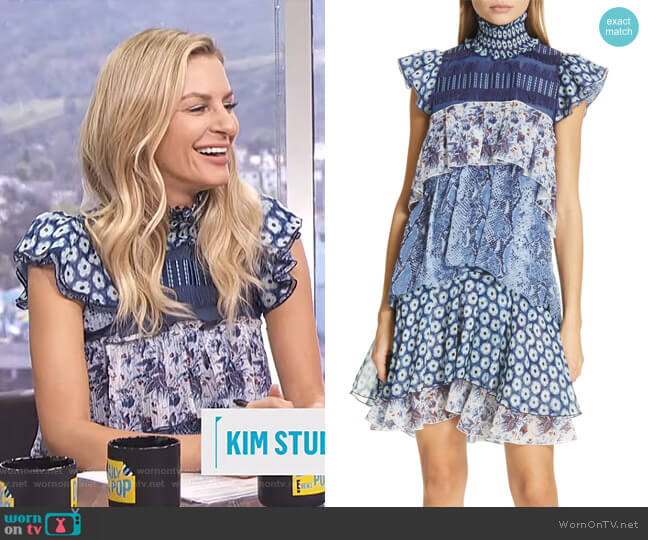 Matilda Dress by Diane von Furstenberg worn by Morgan Stewart  on E! News
