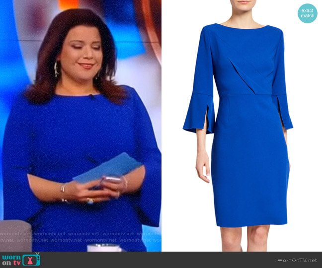 Isla Dress by Elie Tahari worn by Ana Navarro (Ana Navarro) on The View