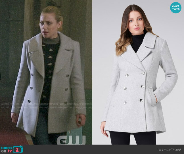 Ever New Alexa Coat worn by Betty Cooper (Lili Reinhart) on Riverdale