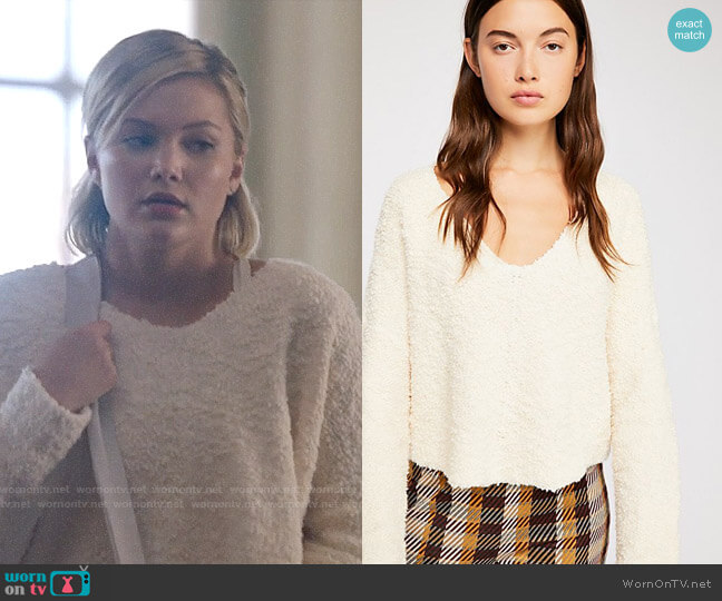 Free People Popcorn Pullover worn by Tandy Bowen (Olivia Holt) on Cloak & Dagger