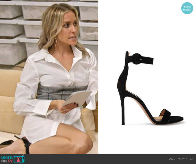 Gianvito Rossi Portofino Sandals worn by Kristin Cavallari  on Very Cavallari