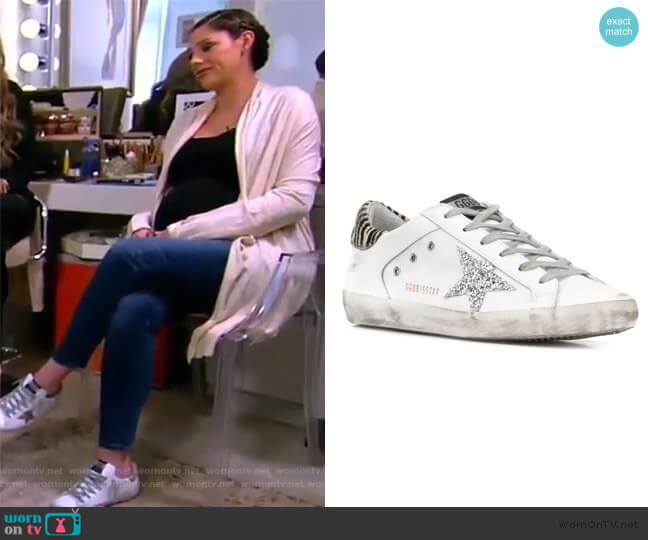 Superstar Sneakers by Golden Goose worn by Abby Huntsman  on The View