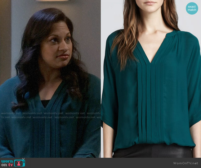 Joie Marru Blouse worn by Anu on The Big Bang Theory