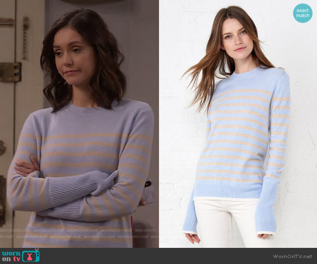 AAA Lean Lines Sweater by La Ligne worn by Clem (Nina Dobrev) on Fam