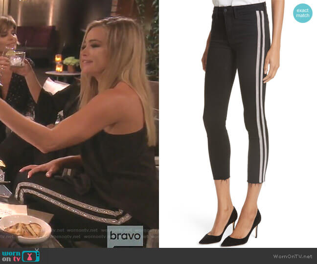 Margot Jeans by L'Agence worn by Denise Richards (Denise Richards) on The Real Housewives of Beverly Hills