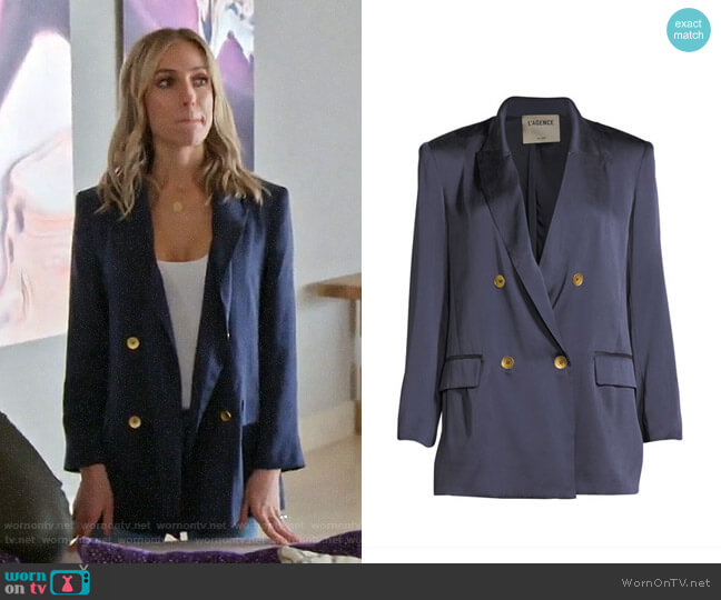 L'Agence Taryn Blazer worn by Kristin Cavallari  on Very Cavallari