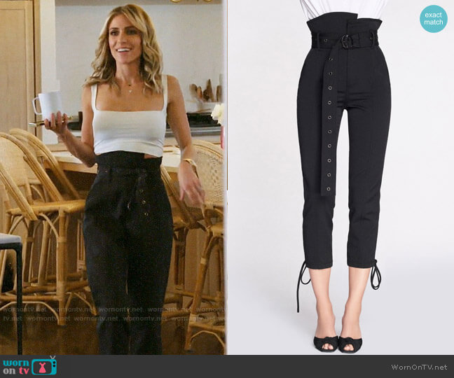 Marissa Webb Isadora Pants worn by Kristin Cavallari  on Very Cavallari