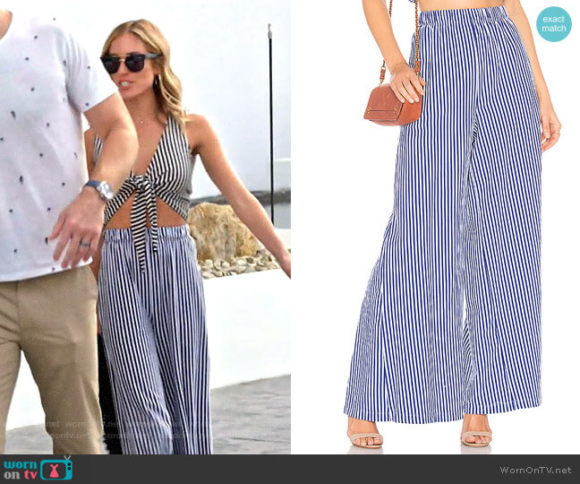 MDS Stripes Pia Pants worn by Kristin Cavallari  on Very Cavallari