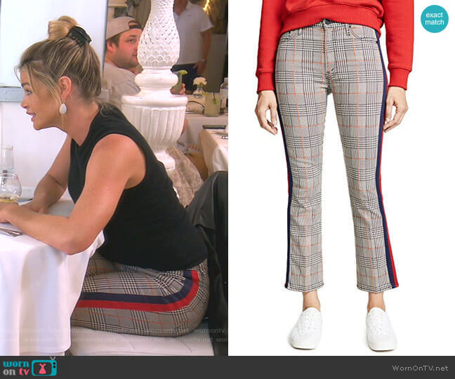 The Insider Ankle Pants by Mother worn by Denise Richards  on The Real Housewives of Beverly Hills