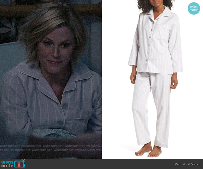 Papinelle Stripe Pajamas worn by Claire Dunphy (Julie Bowen) on Modern Family