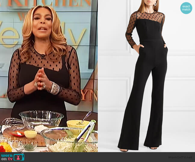 Amber Jumpsuit by Rachel Zoe worn by Wendy Williams  on The Wendy Williams Show