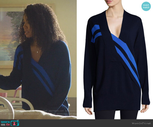 Grace Sweater by Rag and Bone worn by Mary Jane Paul (Gabrielle Union) on Being Mary Jane