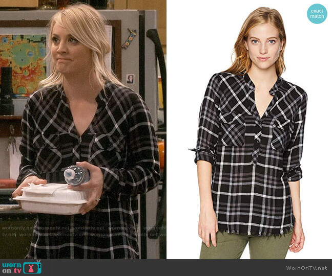 Rails Redding Shirt worn by Penny Hofstadter (Kaley Cuoco) on The Big Bang Theory