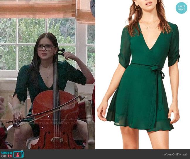Reformation Monica Wrap Dress worn by Alex Dunphy (Ariel Winter) on Modern Family