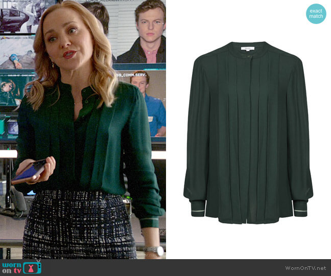 Reiss Nicole Blouse worn by Marissa Morgan (Geneva Carr) on Bull